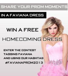 Faviana Homecoming Dress Contest