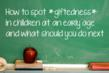 The Top Signs of Giftedness in a Child Identified