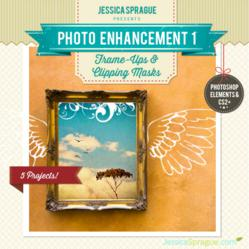 Photo Enhancement 1: Frame Ups & Clipping Masks  - Free Class taught by Jessica Sprague. Begins June 24, 2013