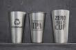 Steelys double-wall & original single-wall steel pint cups.