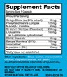 BrainGenX Supplement Facts