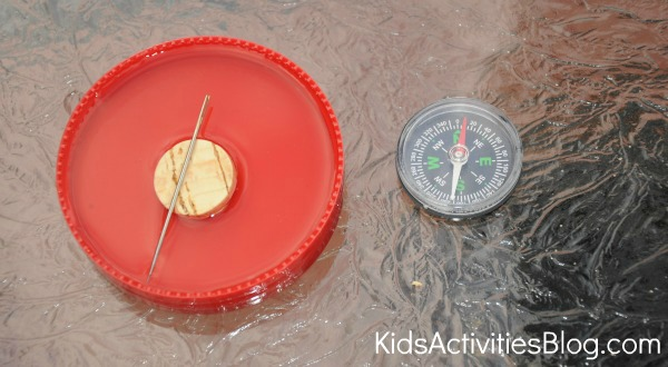 In Time for the Family Road Trip to Teach Kids Directions: How to Make a Compass and Compass Rose Has Been Released on Kids Acti