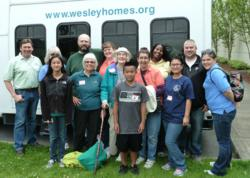 Members of the Wesley Homes Living the Mission Team
