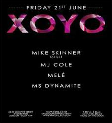 MJ Cole and Ms Dynamite at XOYO