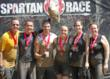 Overall the Spartan Race was tough and muddy. Here part of the New City Chiropractic team gets to the finish line.