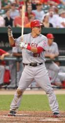 Angels' Outfielder Mike Trout