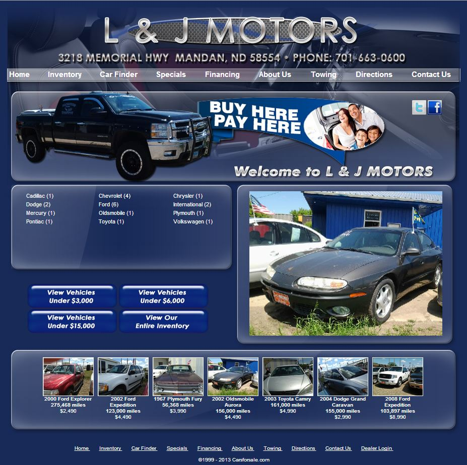 L j motors joins to maximize marketing for Law motors sioux falls sd