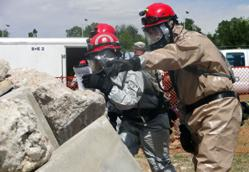 Disaster and EMT training at CCA, a Colorado community college