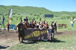 NorthStar employees running the Dirty Dash
