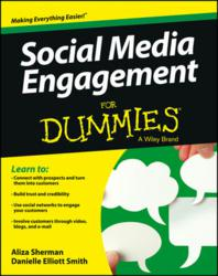 social media engagement, For Dummies, social media, Facebook, Twitter