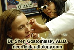 Dr. Sheri Gostomelsky of Audiology Associates of Deerfield