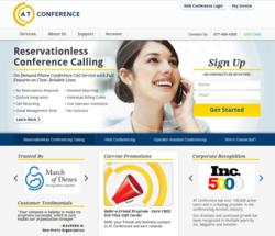 AT Conference, conference call services provider