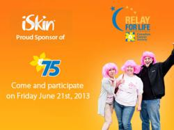 iSkin sponsor the Canadian Cancer Society Relay for Life