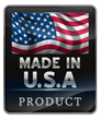 Proudly make all of products in the U.S.