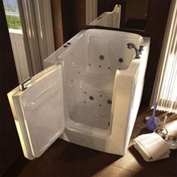 Hydrotherapy walk in bathtubs