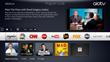aioTV award winning user interface (UI)
