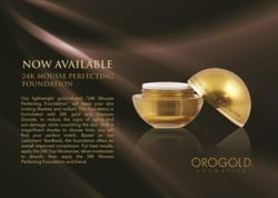 Oro Gold Cosmetics 24K Mousse