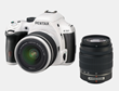 Pentax DSLR Camera White