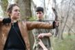 Fans learn archery on Hunger Games™ Unofficial Fan Tours