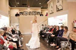 sample sale wedding fashion show