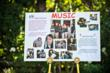 One storyboard displayed at the event highlighted The Phoenix Rising Music Program, an expressive arts therapy program created by Grammy award-winning singer-songwriter Kara DioGuardi.