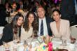 Neil Kadisha (center right) with his family (left to right) daughters Leora and Dina, and wife Dora at Phoenix House's 10th Annual Triumph For Teens Awards Gala.