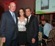 (Left to right) Philanthropists Bruce Karatz and Lilly Tartikoff Karatz with Mitchell S. Rosenthal, M.D. at Phoenix House's 10th Annual Triumph For Teens Awards Gala.