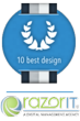 Best Design Agencies Awards RazorIT as  #5 by 10 Best Design