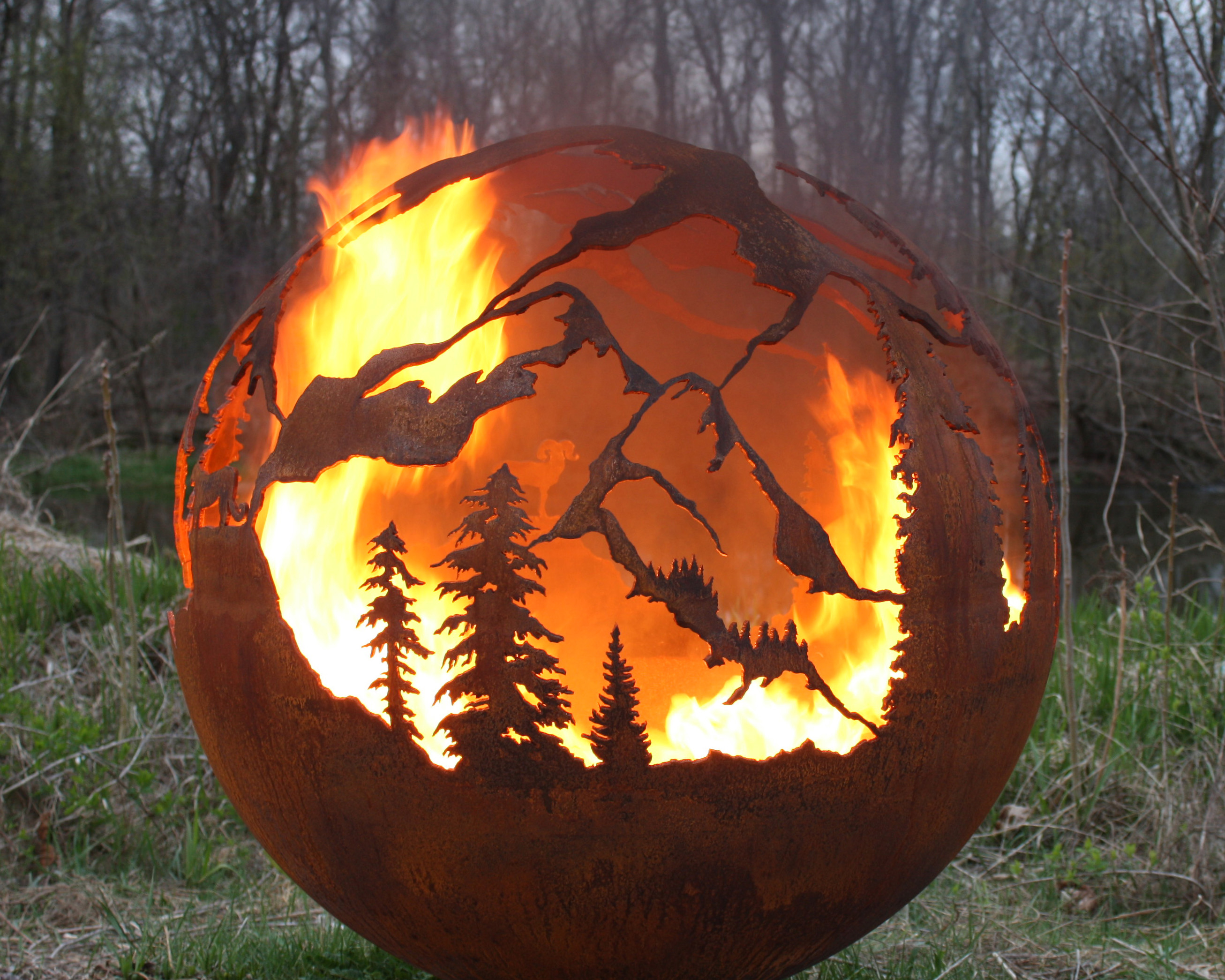 Fabfirepits Com Announces New Fabulous Fire Spheres From