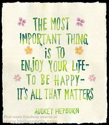 Audrey Hepburn Quotation E Card