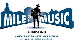 Mile of Music, August 8-11, 2013