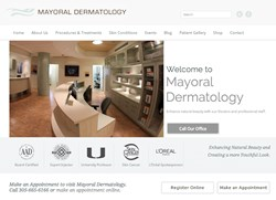 Mayoral Dermatology Website