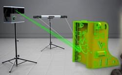 Iris, Virtek, welding, assembly, laser
