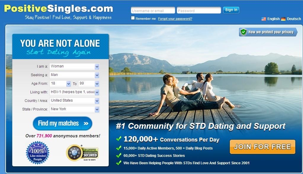 Online-dating für menschen mit herpes