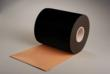 High opacity semi gloss solid black and matte black top coated polyimide tapes