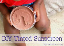sunscreen recipe