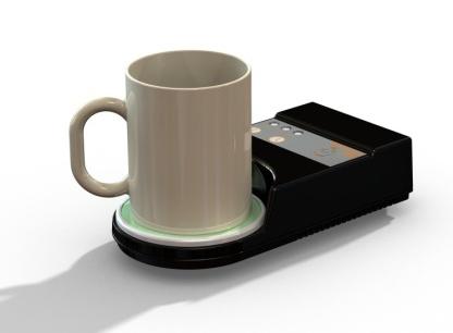 Revollex Creates The Coffee Buzzer An Induction Warmer