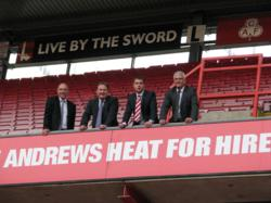 Specialist hire company Andrews Sykes signs Charlton Athletic FC shirt sponsorship deal