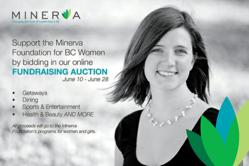 Online Charity Auction in Support of the Minerva Foundation