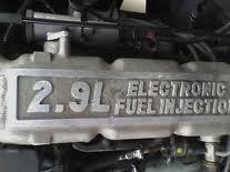 Rebuilt Ford Bronco II Engine