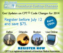 Procedural Coding Changes Workshops