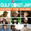 Pepsi Gulf Coast Jam Announces Beachfront Stage Artists
