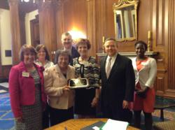 Interstitial Cystitis Association, International Adhesions Society, Advocacy for IC and Pelvic Pain, Capitol Hill, Rep. Nita Lowey