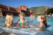 Soaking and swimming at Glenwood Hot Springs is a family activity