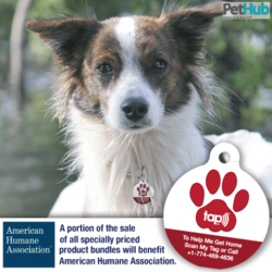 PetHub's National Prepared Month special product bundles benefit American Humane Association.