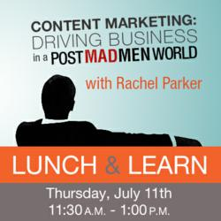 """Content Marketing: Driving Business in a Post-Mad Men World"" coming to HiMA"