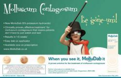 MolluDab treatment