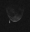 Asteroid 1998 QE2 and moon
