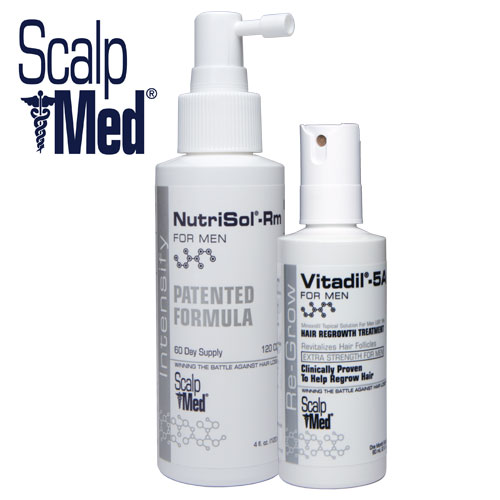 ScalpMed Hair Growth Product Receives New U.S. Patent