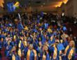 Allen School students celebrating at last year's graduation ceremony